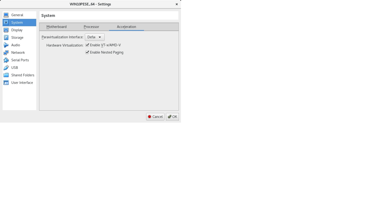 Problem installing VirtualBox in F24